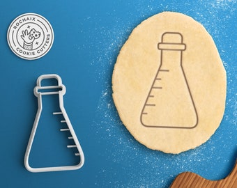 Science Cookie Cutter – Chemistry Gift Chemistry Cookie Cutter Erlenmeyer flask