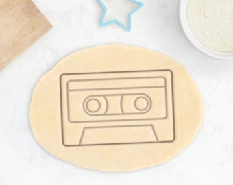 Cassette Tape Cookie Cutter – Vintage Floppy Disk Cookie Cutter Music Cookie Cutter Geek Cookie Cutter Mix Tape Music Gift Retrogaming Gift