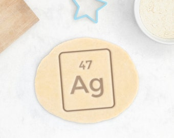 Periodic Table Cookie Cutter – Science Cookie Cutter Science Gift Chemistry Gift Science Cookies Test Tube Cookie Cutter Geek Cookie Cutter