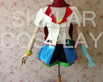 Arcade Ahri Cosplay Handmade Jacket plus 3d models