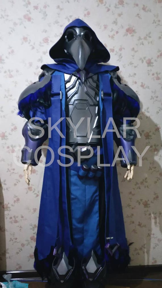 overwatch ow reaper cosplay costume etsy