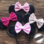Classic Pick Your Color Mickey Minnie Mouse Ears, Mickey Mouse Ears, Disney Headband,  Minnie Mouse Headband, Disney Birthday Ears