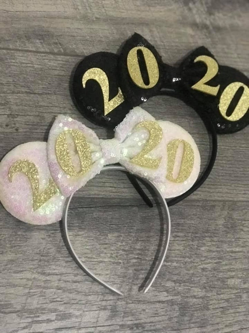New Year's Mickey Ears 2020 Mickey Minnie Mouse Ears New image 0