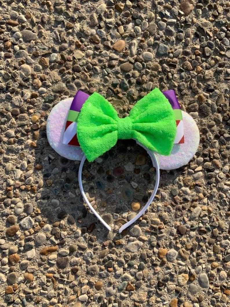 Buzz Lightyear Inspired Mickey Ears Buzz Lightyear Toy Story image 0