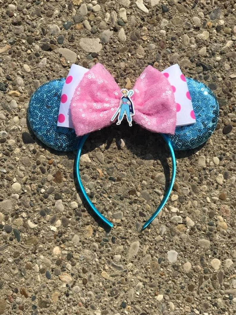 Bo Peep Inspired Mickey Minnie Mouse Ears Toy Story Mickey image 0