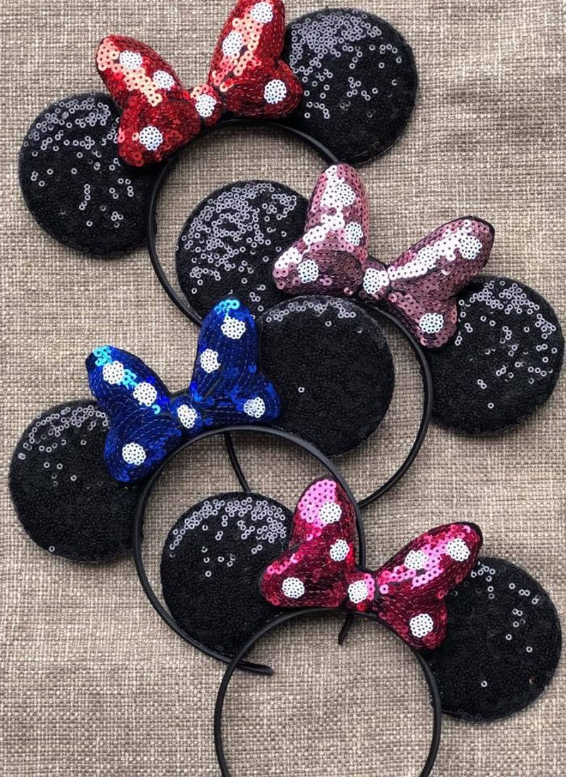 Classic Minnie Mouse Ears Mickey Mouse Ears Minnie Mouse image 0
