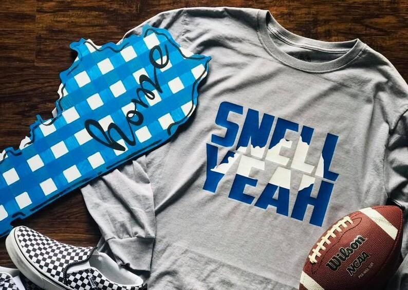 fee3d16e1da Snell Yeah BBN shirt Kentucky basketball football shirt