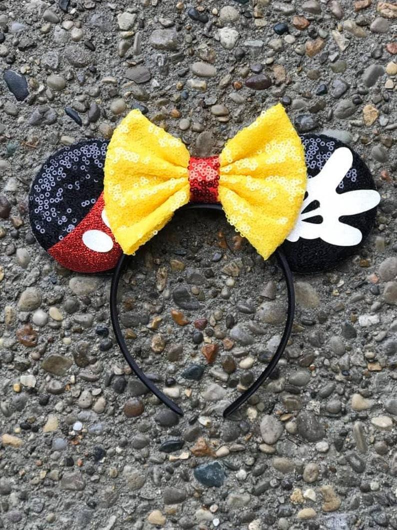 Mickey Mouse Ears Mickey Mouse Disney Ears Minnie Mickey image 0