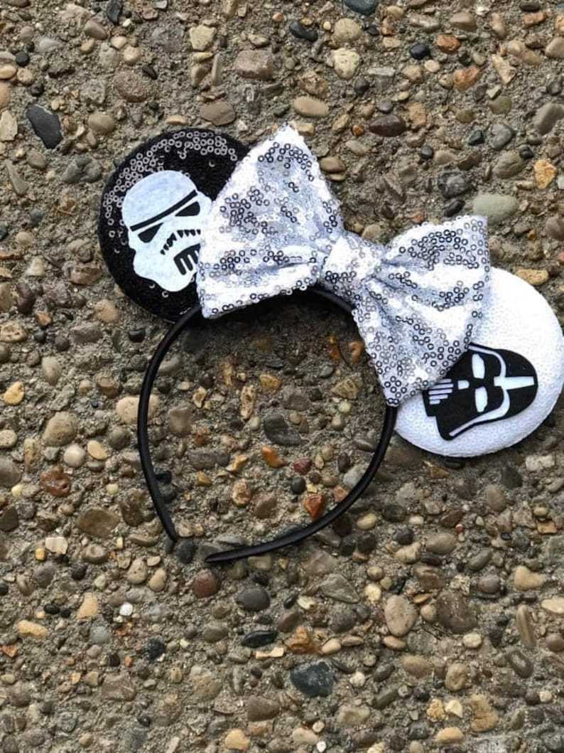 Star Wars Inspired Mickey Ears Darth Vader Mickey Ears Star image 0