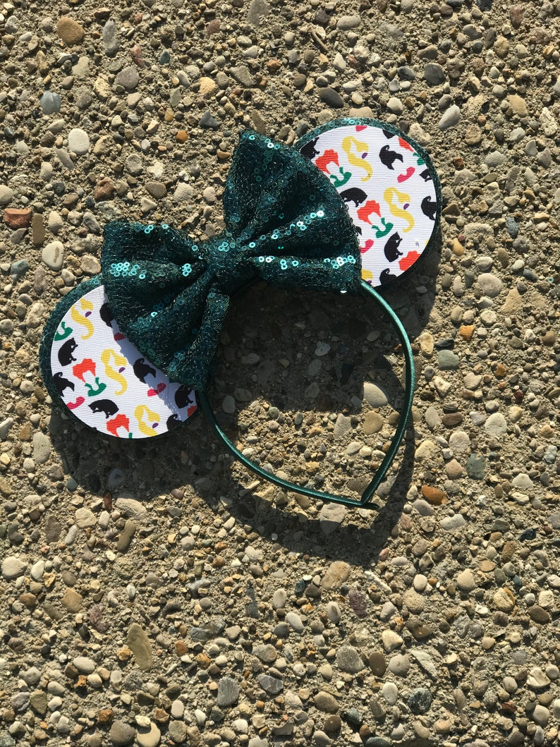 Hocus Pocus Witch Inspired Mickey Minnie Mouse Ears Hocus image 0