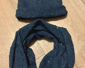 Women's hat and neck ...