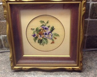 Vintage needle point/petit point