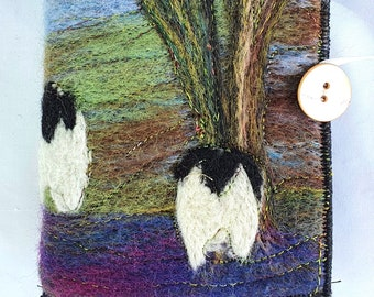 Handmade felted Sewing Wallet