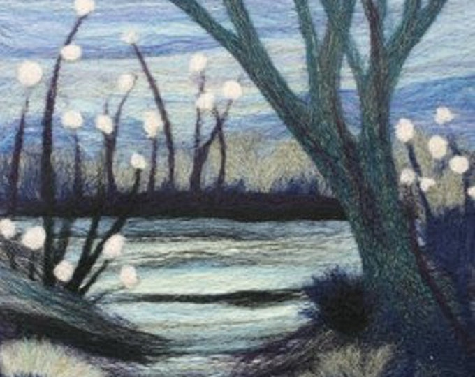 Needle felting kit (The Pond)