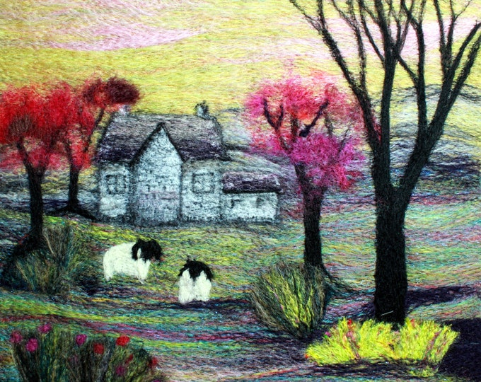 Needle felting kit (The Cottage)