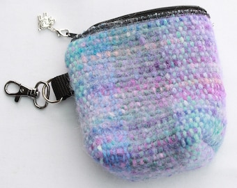 Handmade felted Purse with Shopping Bag
