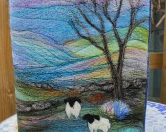 Needle Felted Covered A5 Book