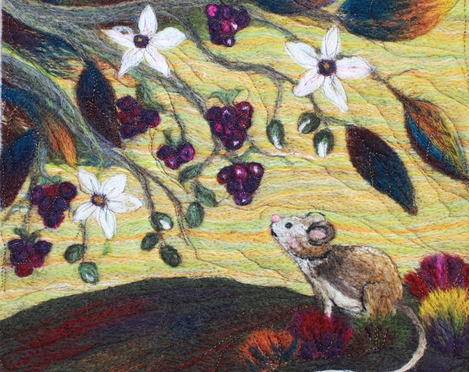 Needle felting kit (Harvest Mouse)