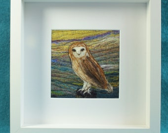 Needle-felted pictures