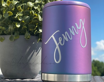 NEW Purple Haze Standard Can Cooler 12oz Soda Seltzer Beer Can Cold Beach Lake Vacation Boat Party Wedding Bachelorette Girls Trip