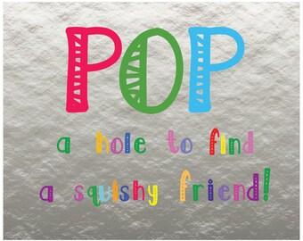 POP Sign for Taylor