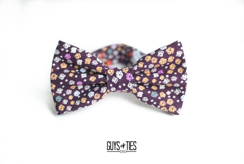 7a9d97e5d25c Burgundy floral bow tie mens maroon bow ties boys wine | Etsy