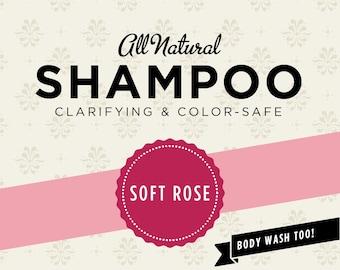 Soft Rose Organic Shampoo