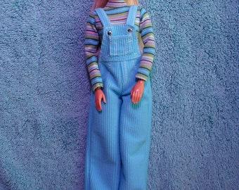 Cool Blue Barbie Etsy
