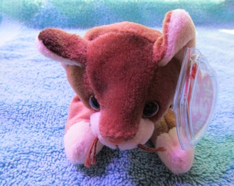 Ty Beanie Baby Pounce Cat Vintage 1997-Extremely Good Condition 6ef30472792f