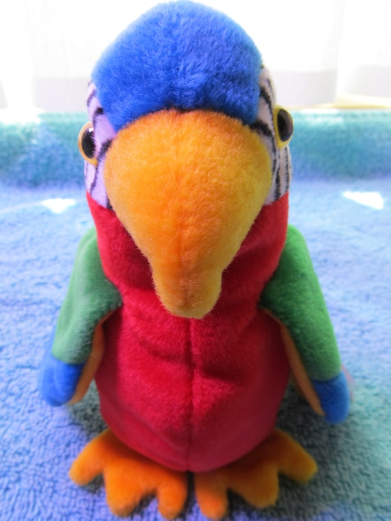 119c5769626 Ty Beanie Baby Jabber Parrot Vintage 1997 Mint Condition