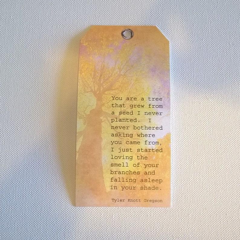 Tree Poem Tag
