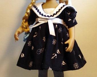 Little Darling Dolls sailor outfit/13 inch little darling dolls dress