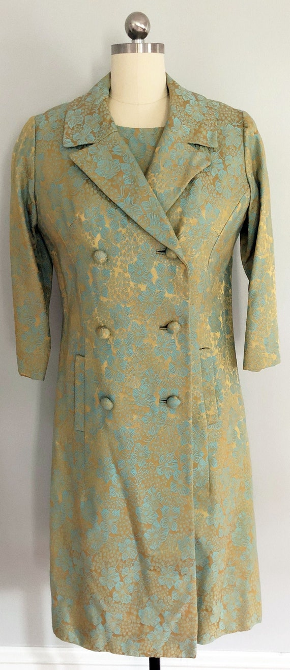 Vintage Leslie Fay Dress and Matching Coat