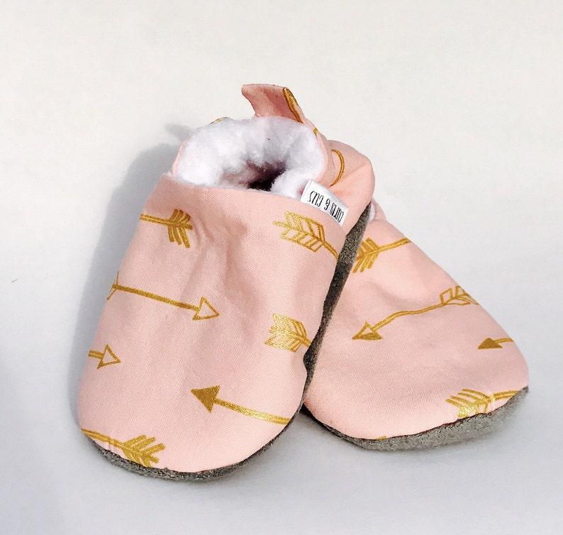 4c1ae49ea9103 Rose flèche bébé Chaussures chaussures de bébé fille