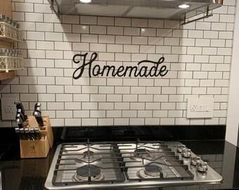 Kitchen metal signs | Etsy