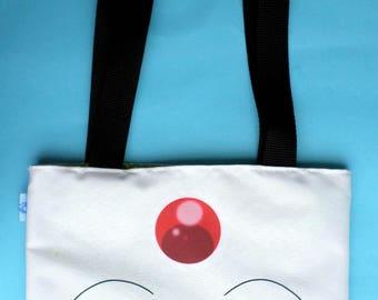 Cute Tsubasa Chronicles Ball Mini Tote Bag Anime White Mokona Clamp
