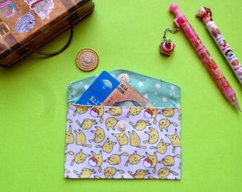 Cute Pokemon Card Holder Mini Coin Purse Wallet Pikachu