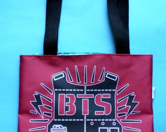 BTS Mini Tote Bag K-pop