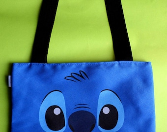 Cute Lilo & Stitch Mini Tote Bag