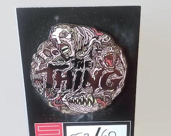 The Thing John Carpenter Friday the 13th The Fly Horror Enamel Pin Set