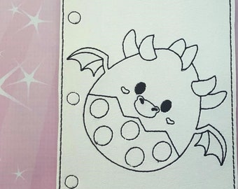 Fox Egg Coloring Page Etsy