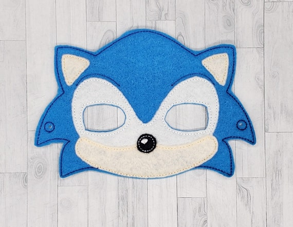 Hedgehog Cosplay Mask Mask For Kids Mask For Men Felt Mask Etsy