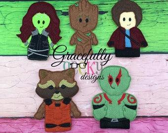 Guardians Finger Puppets