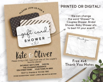 Printable Expecting New Baby Announcement Shower Invitation