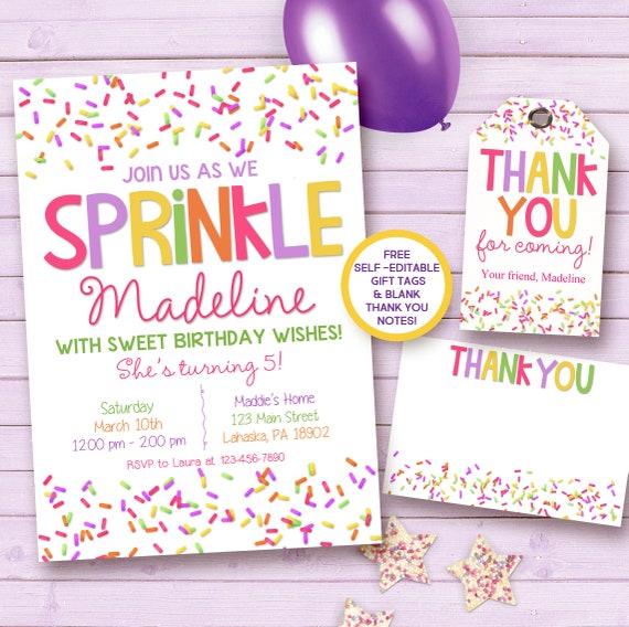 Sprinkle birthday invitation sprinkle printable invitation etsy image 0 filmwisefo