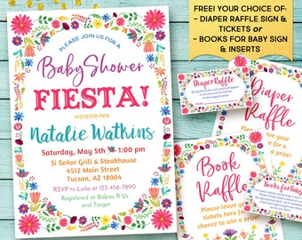 Mexican Baby Shower invitation, Mexican Fiesta baby shower invitations, Fiesta baby shower invitations, Digital