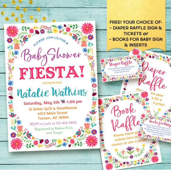 Mexican Baby Shower Invitation Mexican Fiesta Baby Shower Invitations Fiesta Baby Shower Invitations Digital
