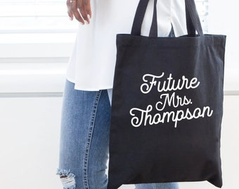 Future Mrs, wife tote, Bride Tote Bag, Bride, Wedding tote, Bride gift, mrs tote, bridal shower gift, future mrs tote, bridal shower