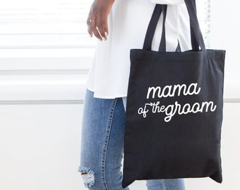 Mother of the Groom Tote, Wedding tote, Mother of the Groom Gift, Welcome bag, wedding tote, mother of the bride gift, Mama of the bride