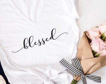 Blessed tshirt. Blessed mama tshirt, Mom tshirt, mom birthday gift. blessed mama tee, Mother's Day, Mother's Day gift, Mother's day t shirt